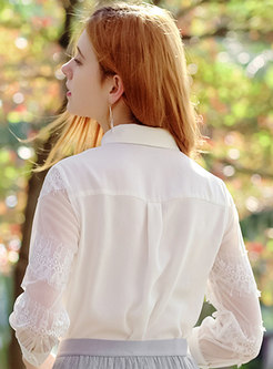 Stylish Three Quarters Sleeve Blouse
