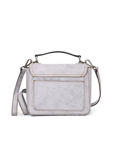 80c72b636d2f ... Retro Brief Black Solid Color Square Crossbody Bag ...