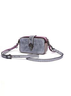 Fashion Retro Camera-shape Tote & Crossbody Bag