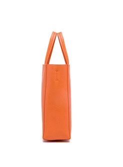 Fashion Orange Top Handle & Bucket Bag