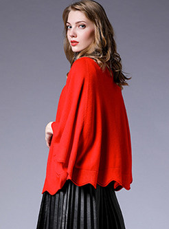 Fashion Solid Color Plus Size Zip-up Knitted Kimonos