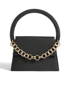 Chic Geometric Semicircle Handle Bag