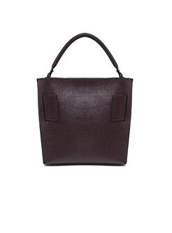 Stylish Popular Open-top Cowhide Crossbody & Top Handle Bag
