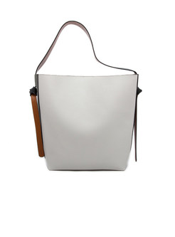 Hit Color Stitching Bucket Magnetic Tote Bag