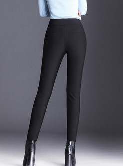 Casual Cashmere Thermal High Waist Leggings Pants