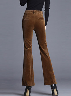 Trendy Plus Velvet Thick Easy-matching Pants