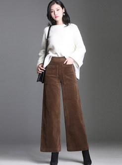 Winter Casual Plus Velvet Easy-matching Pants