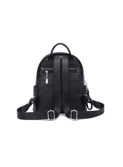 Fashion Color-blocked All Matched Backpack