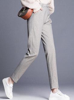 Stylish High Waist Slim Harem Pants