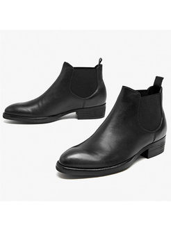 Spring/fall Genuine Leather Ankle Boots