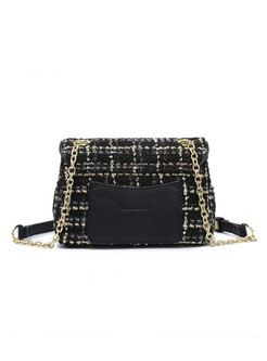 Chic Cowhide Leather Top Handle & Crossbody Bag
