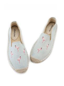 Fashion Animal Print Flat Fisherman Shoes