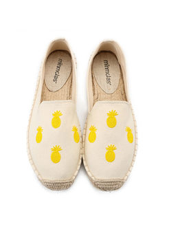 Fashion Embroidered Flat Spring/Fall Shoes