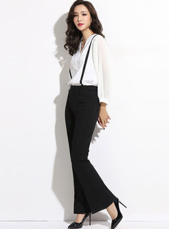 Fashion Long Sleeve Slim Two Piece Outfits