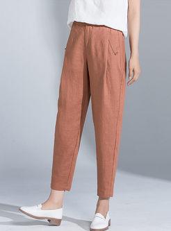 Casual High Waist Loose Harem Pants