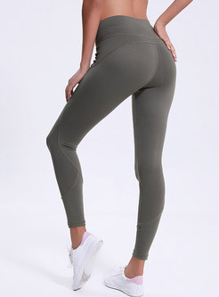 Stylish High Waist Breathable Ankle-length Fitness Pants
