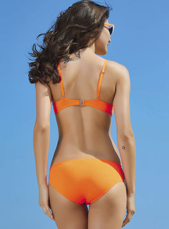 Sexy Summer Perspective Gathered Bikini
