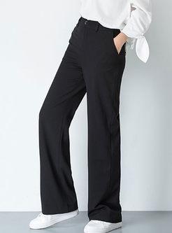 High Waisted Long Wide Leg Pants