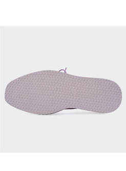 Casual Thick Outsole Bandage Shoes