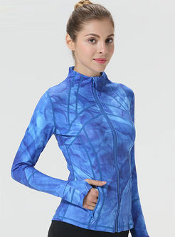 Stand Collar Slim Quick-drying Sport Jacket