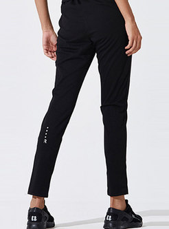 Casual Elastic Slim Sport Pants