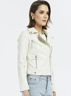 Casual Slim Short Biker Jacket