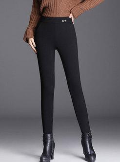 Black High Waisted Skinny Pants