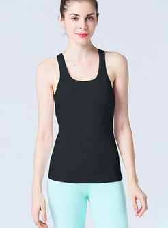 Scoop Pullover Slim Workout Top