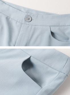 Print Patchwork Bowknot Flare Pant Suits