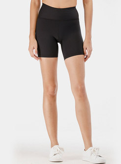 High Waisted Tight Yoga Sport Shorts
