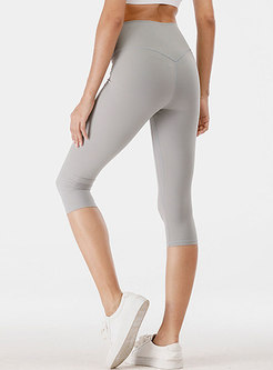 Tight High Waisted Hip-lifting Breathable Sports Pants