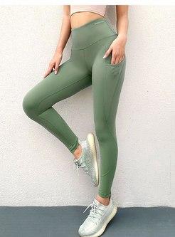 High Waisted Hip-lifting Tight Yoga Pants