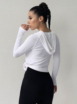 Long Sleeve Tight Breathable Sports Top