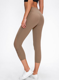 High Waisted Tight Breathable Yoga Pants