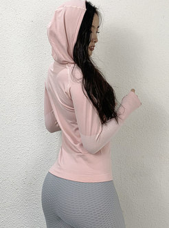Long Sleeve Pullover Tight Sports Top