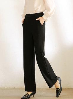 High Waisted Wide Leg Dress Pants