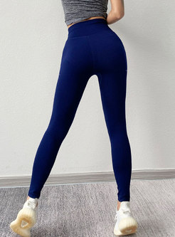 Openwork Tight Breathable Yoga Ripped Pants