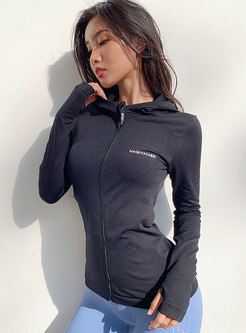 Hooded Tight Quick-drying Sport Jacket