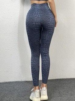 High Waisted Print Fitness Yoga Pants