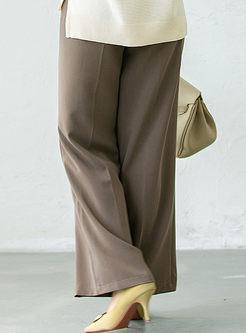 High Waisted Casual Wide Leg Pants