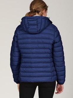Hooded Short Slim Puffer Jacket