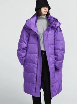 Removable Hooded Long Oversize Puffer Coat