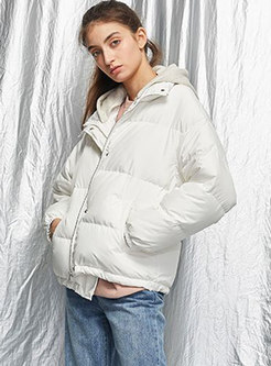 Removable Knitted Patchwork Puffer Jacket