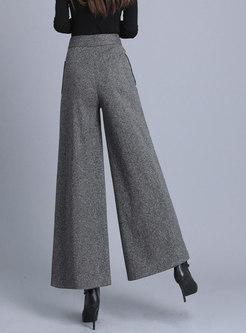 Brief High Waisted Wide Leg Pants