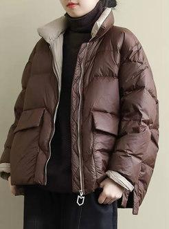 Lightweight Straight Puffer Jacket