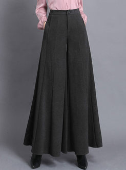 High Waisted Wide Leg Flare Pants