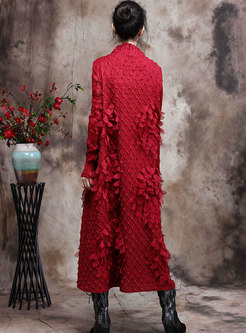 Half Turtleneck Ruched Shift Plus Size Dress
