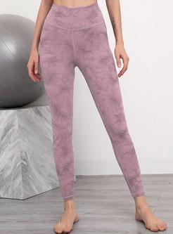 High Waisted Tight Print Yoga Pants