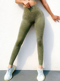 Solid Quick-drying Tight Fitness Pants