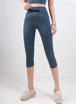 High Waisted Tight Yoga Capri Pants